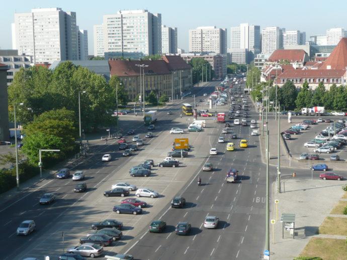 Blick auf Grunerstraße, 2008