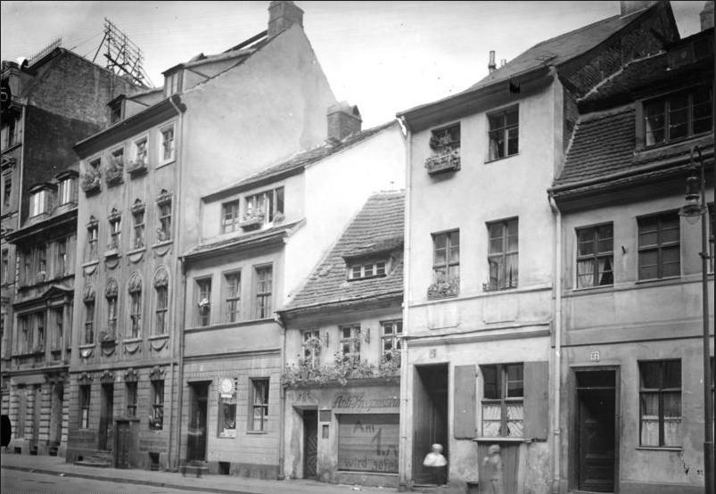 Anti-Kriegsmuseum in der Parochialstraße, 1930